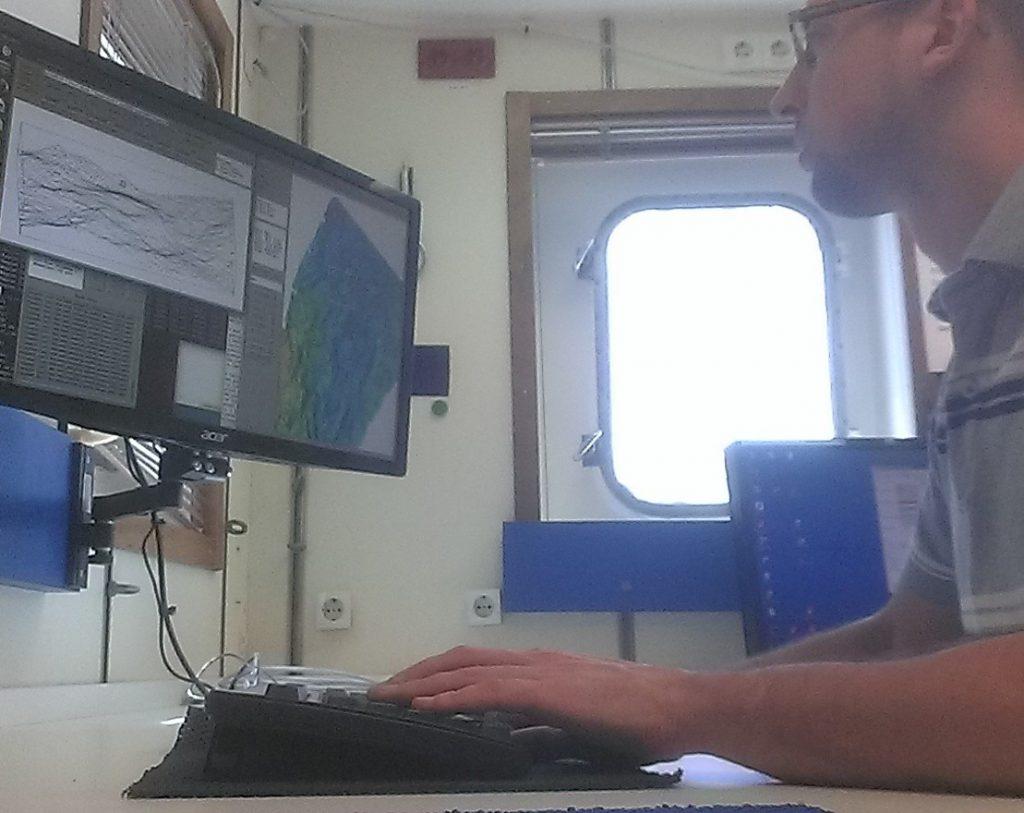 Multibeam data processing on M126