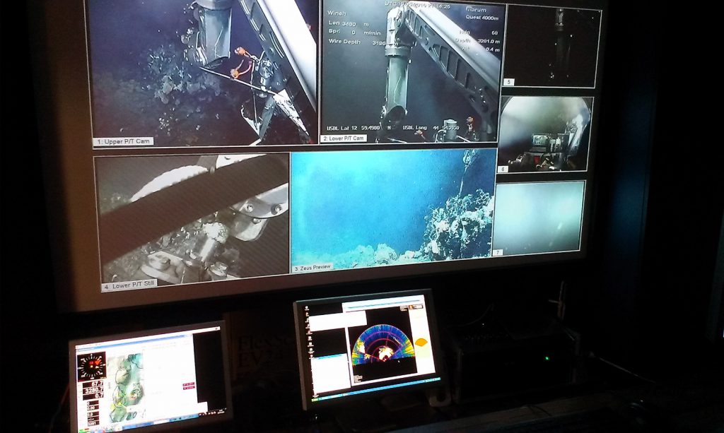 Scientific ROV lab
