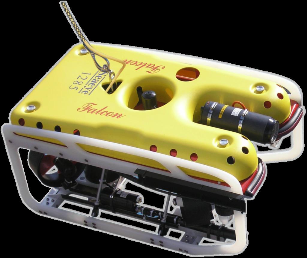Our FIELAX ROV of type SAAB Seaeye Falcon